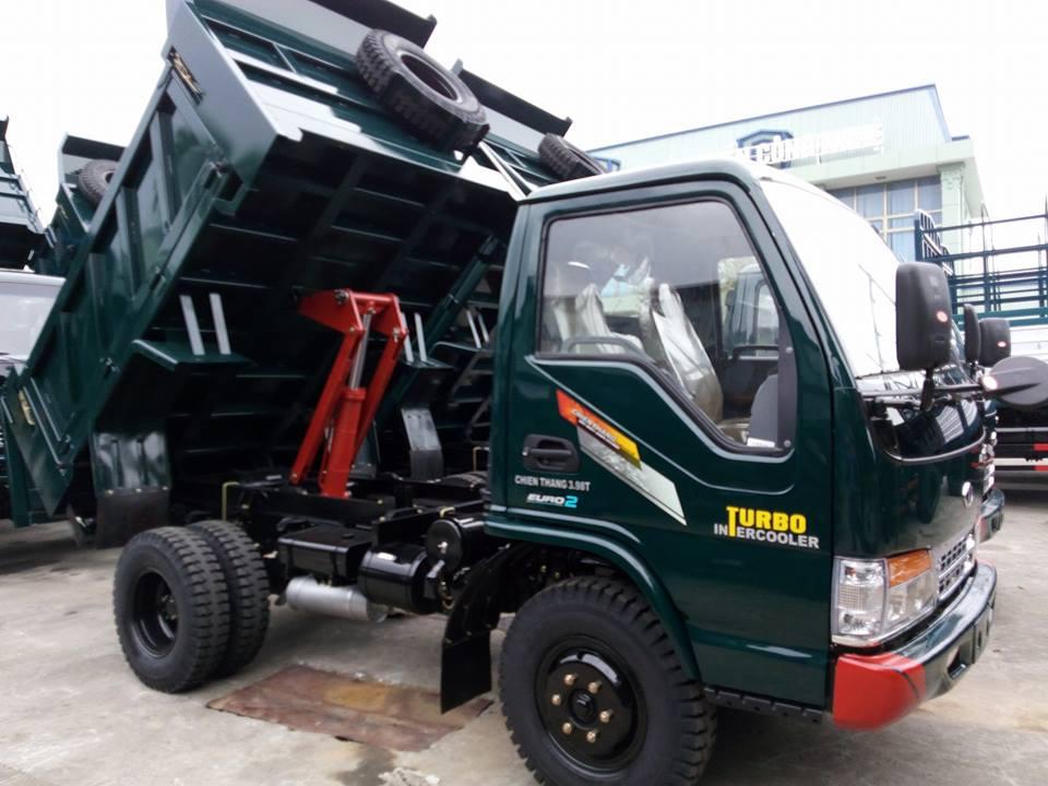 Xe tải ben Chiến Thắng 3.98 tấn