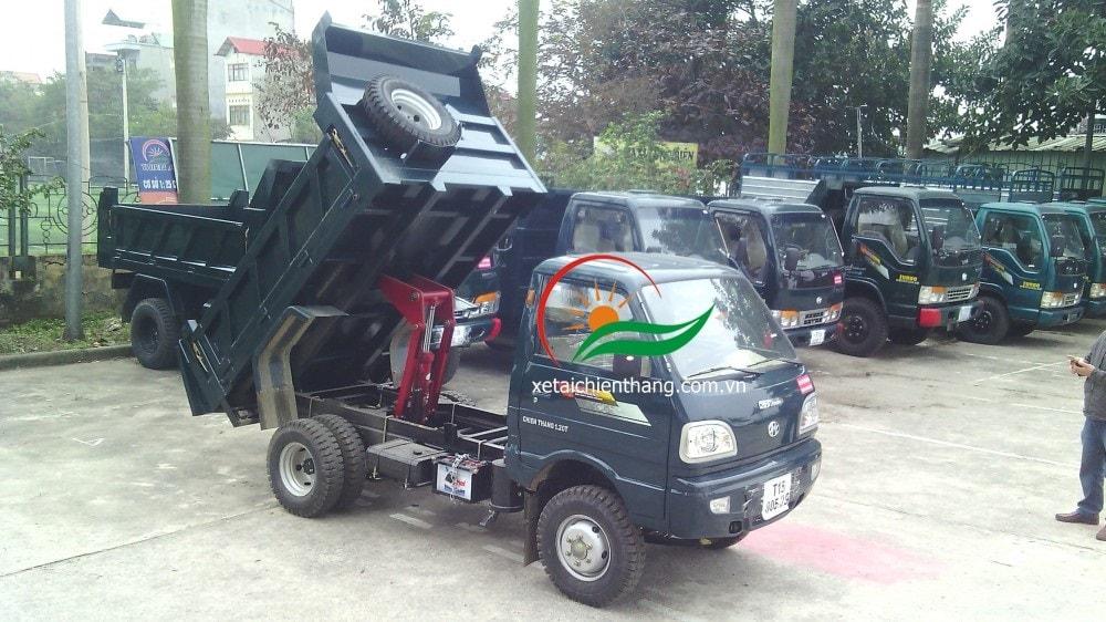 Xe tải ben Chiến Thắng 1.2 tấn