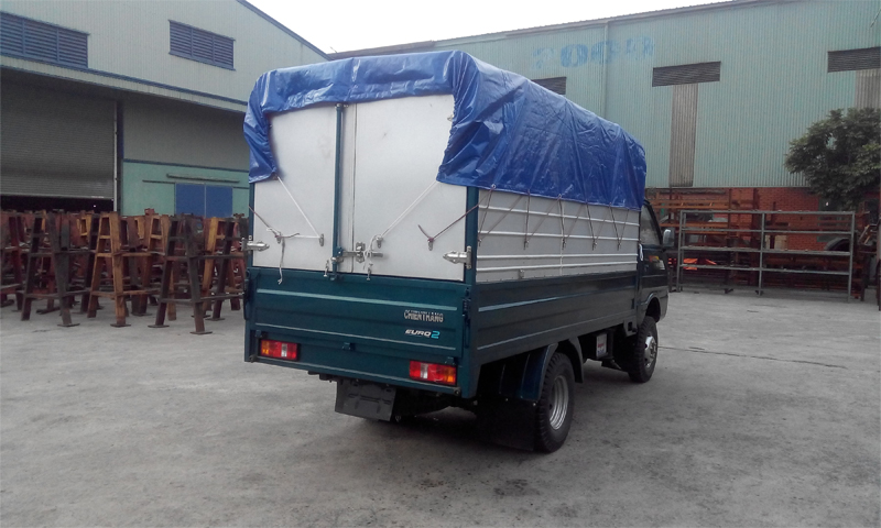 Xe tải Chiến Thắng 1.4 tấn thùng khung mui