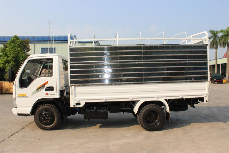 Xe tải Chiến Thắng 1.5 tấn thùng khung mui