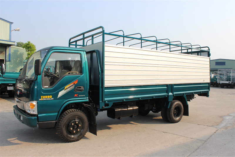 Image result for Xe tải Chiến Thắng 3.45 tấn thùng khung mui
