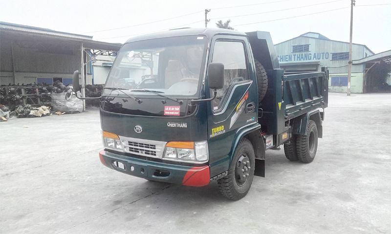 Xe tải ben Chiến Thắng 3.48 tấn 1 cầu