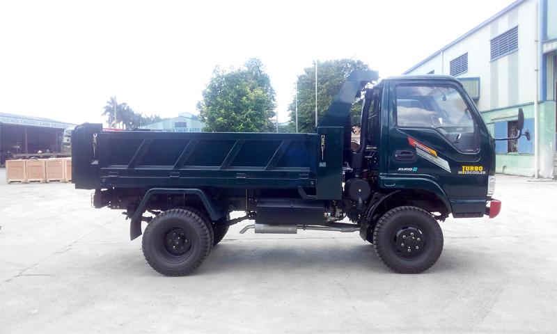 Xe tải ben Chiến Thắng 3.48 tấn 2 cầu