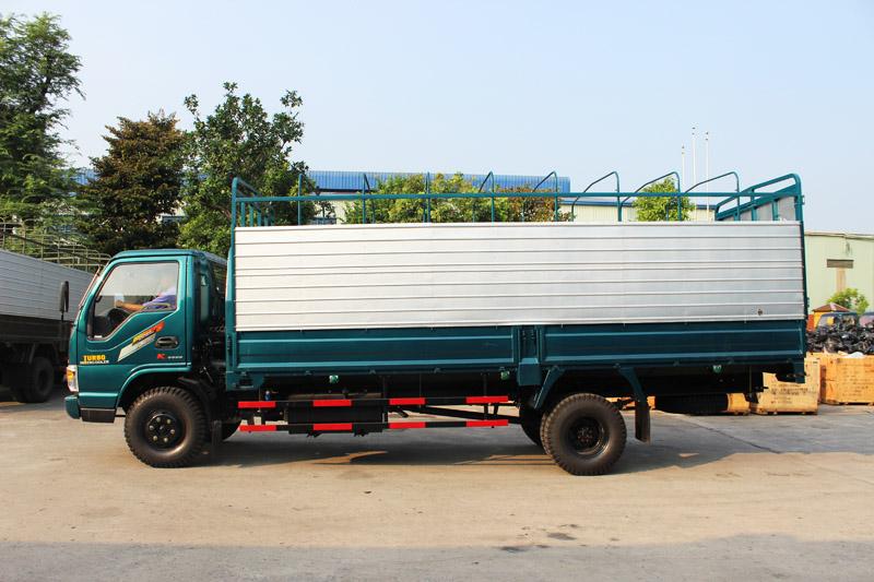 Image result for Xe tải thùng khung mui Chiến thắng 7.2 tấn