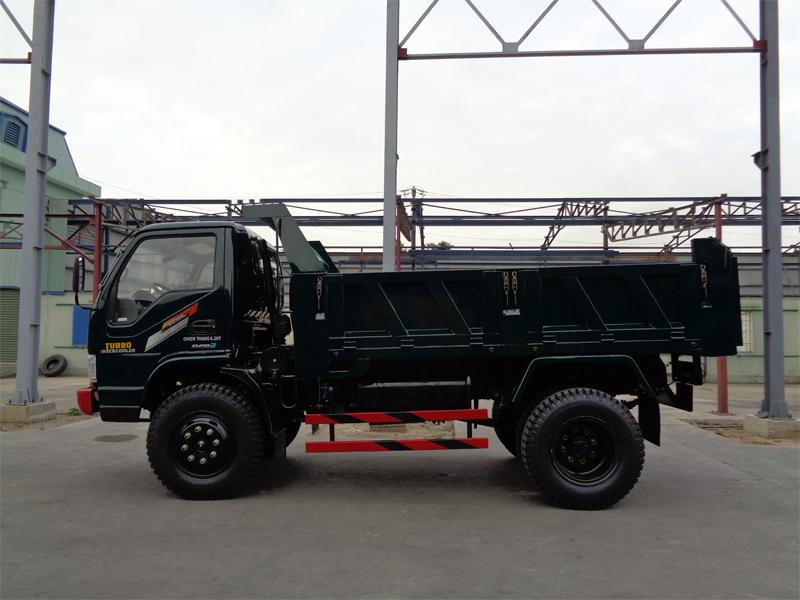 Kết quả hình ảnh cho Xe tải ben Chiến Thắng 6.2 tấn 1 cầu
