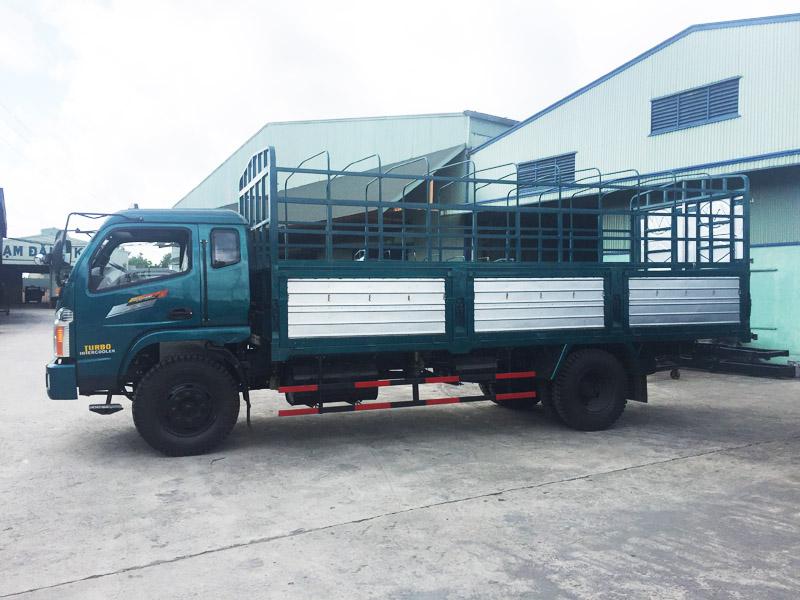 Image result for Xe tải thùng khung mui Chiến Thắng 6.25 tấn