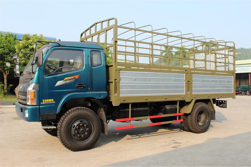 Xe tải thùng khung mui Chiến Thắng 6.5 tấn 2 cầu