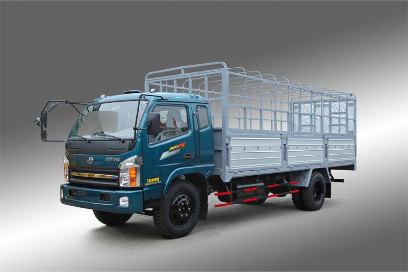 Image result for Xe tải thùng khung mui Chiến Thắng 6.5 tấn 2 cầu