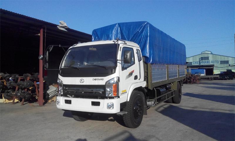 Xe tải thùng khung mui Chiến thắng 7.2 tấn