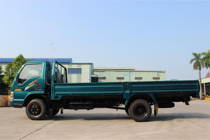 Xe tải thùng lửng Chiến Thắng 3.45 tấn