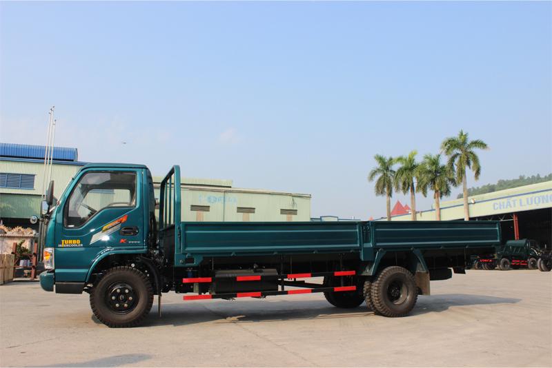 Xe tải thùng lửng Chiến Thắng 4.95 tấn