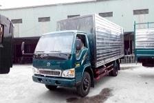 Xe tải thùng tôn kín Chiến Thắng 4.95 tấn